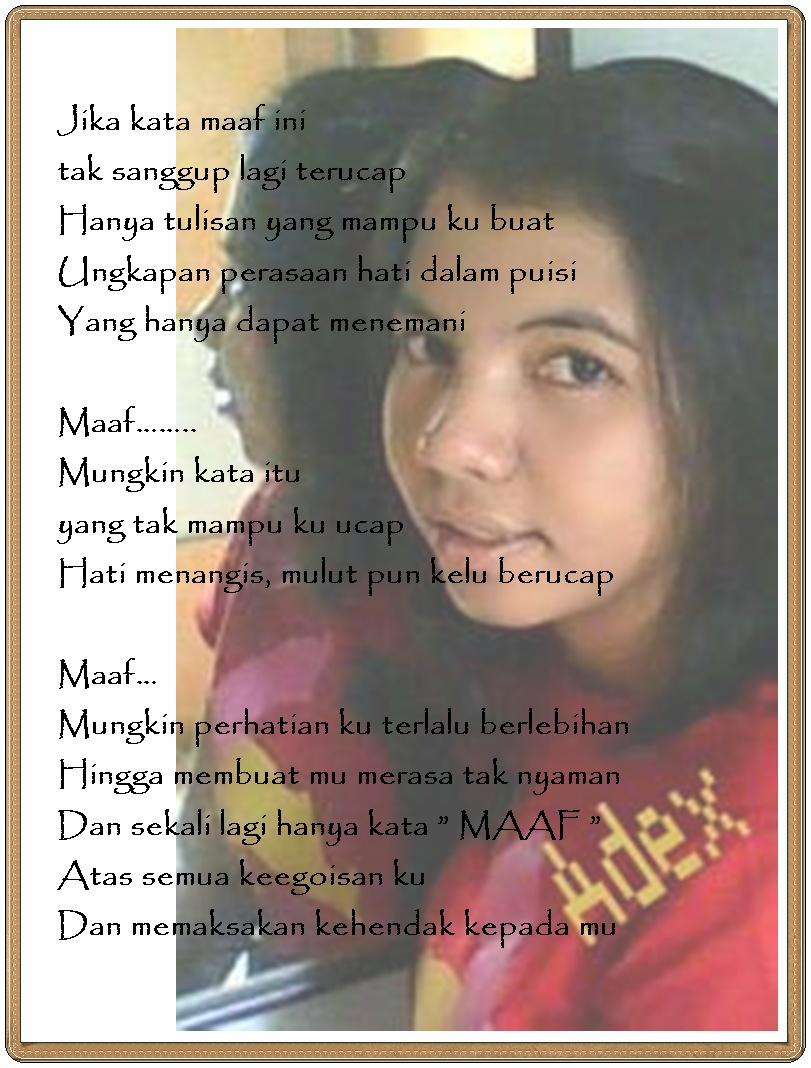 Puisi Ku Dalam Foto Argamakmur S Weblog