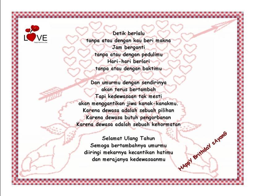 Ucapan Valentine Day's